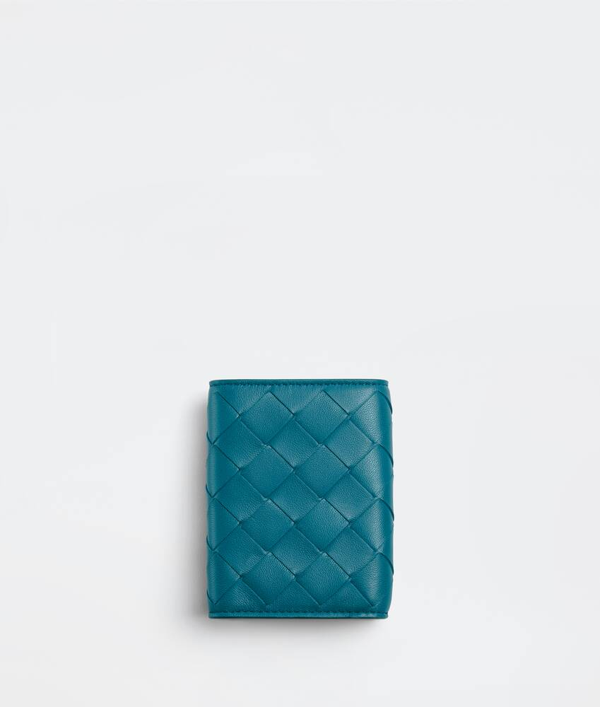 Display a large version of the product image 2 - small tri-fold flap wallet