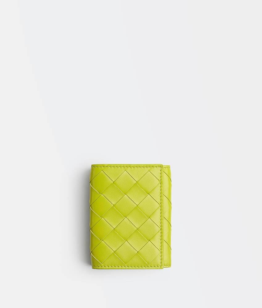 商品の拡大画像を表示する 1 - スモール 三つ折りフラップウォレット