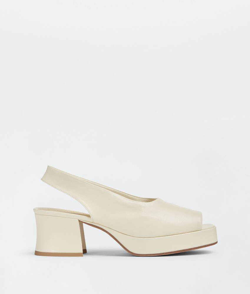 Display a large version of the product image 1 - stack slingbacks