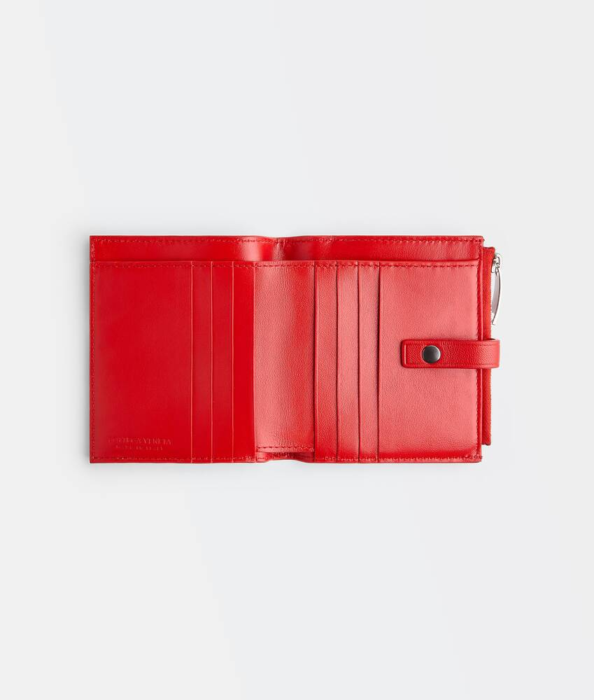 Display a large version of the product image 3 - small bi-fold zip wallet
