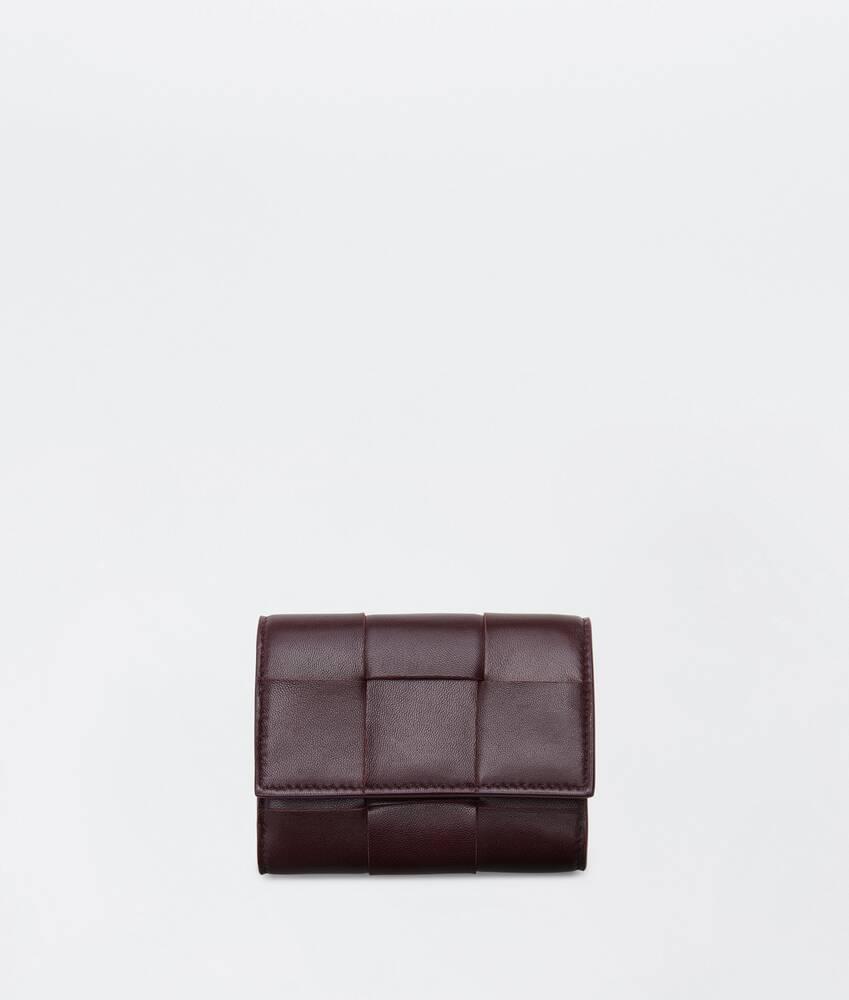 Afficher une grande image du produit 1 - portefeuille à rabat à trois volets petit format