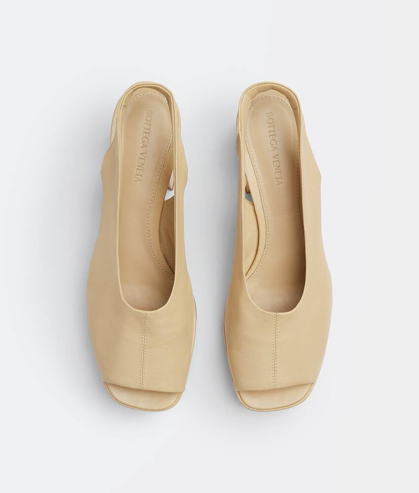 Display a large version of the product image 4 - stack slingbacks