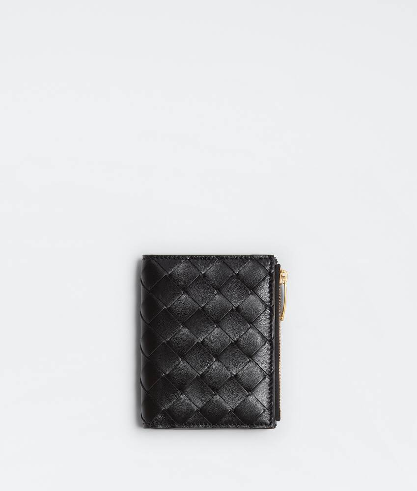 Display a large version of the product image 1 - bi-fold zip wallet