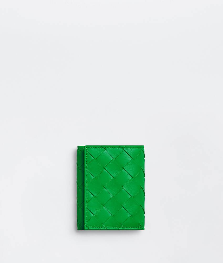 Display a large version of the product image 1 - small tri-fold zip wallet
