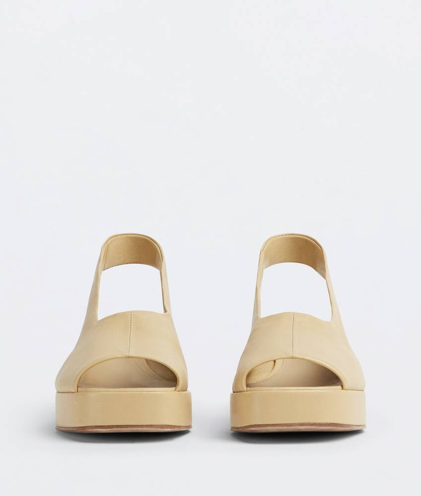 Display a large version of the product image 2 - stack slingbacks