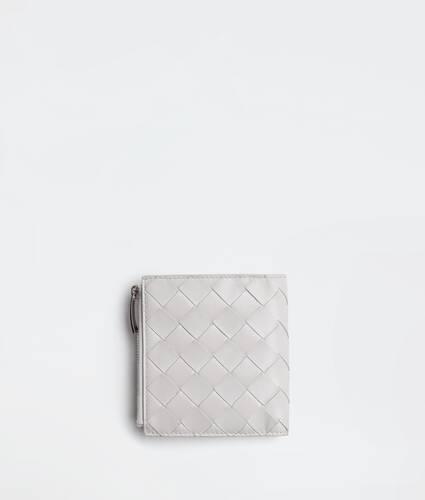 portefeuille zippé à deux volets petit format