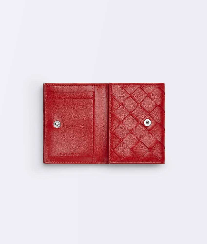 Display a large version of the product image 3 - small tri-fold flap wallet