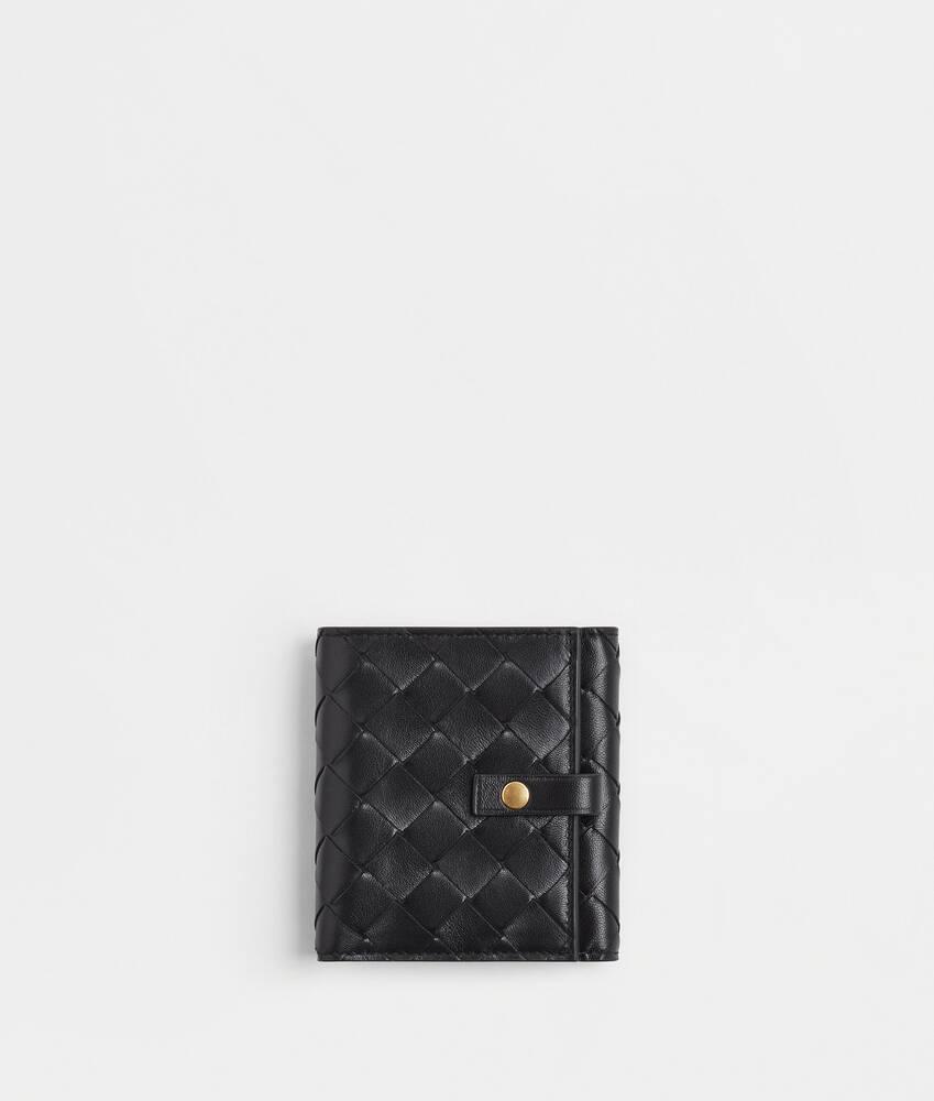 Afficher une grande image du produit 1 - portefeuille à rabat à deux volets petit format