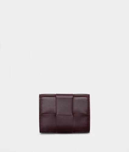 portefeuille à rabat à trois volets petit format