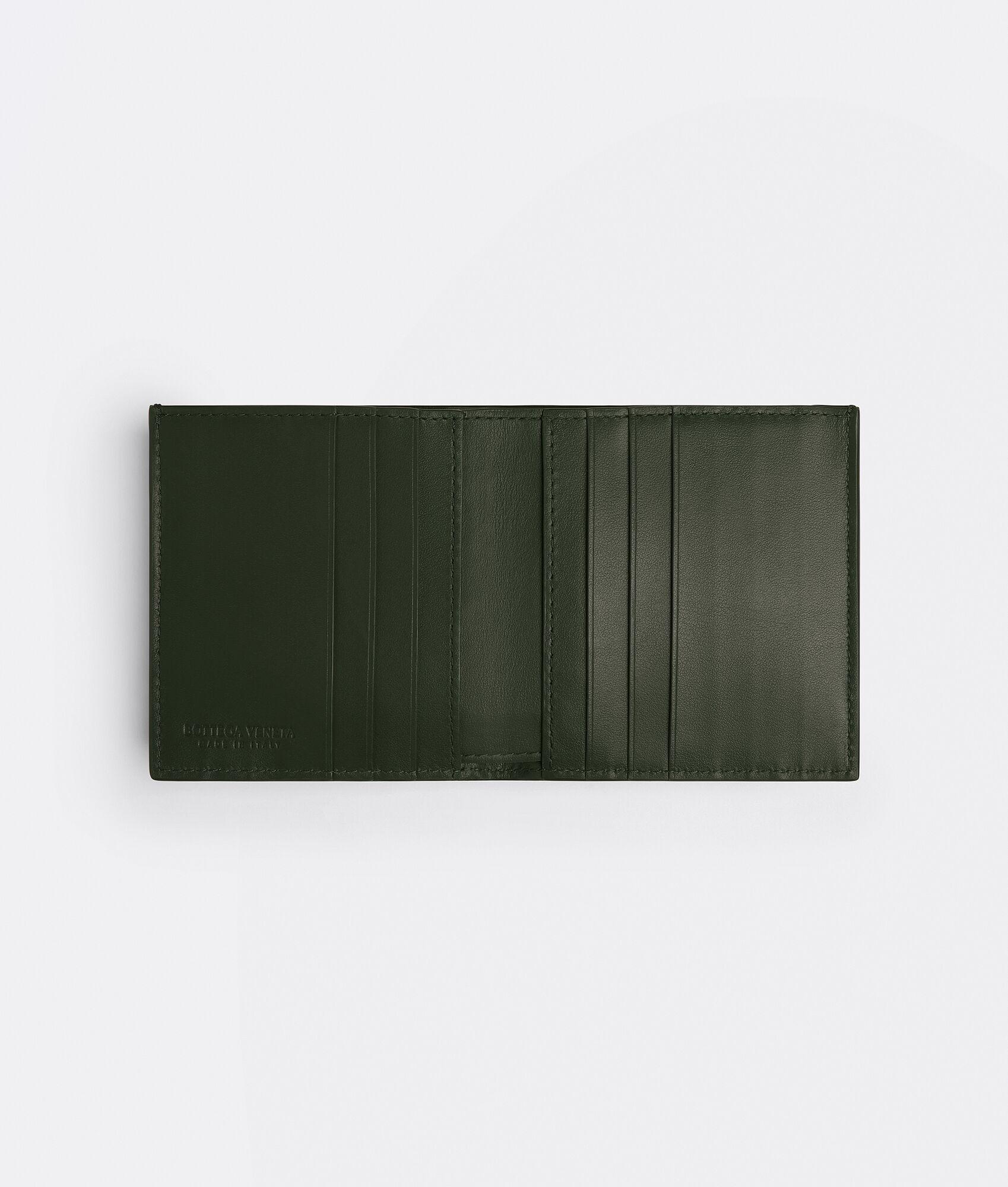 BOTTEGA VENETA ミニ財布 の内装画像
