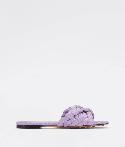 stretch flat sandals