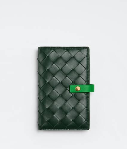 bifold portemonnaie mit zip