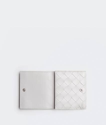 portefeuille à rabat à deux volets petit format
