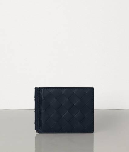 bi-fold wallet with money clip