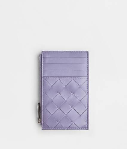 étui pour cartes zippé avec porte-monnaie