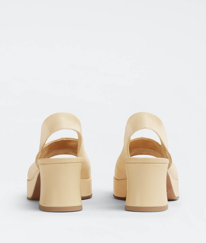 Display a large version of the product image 3 - stack slingbacks