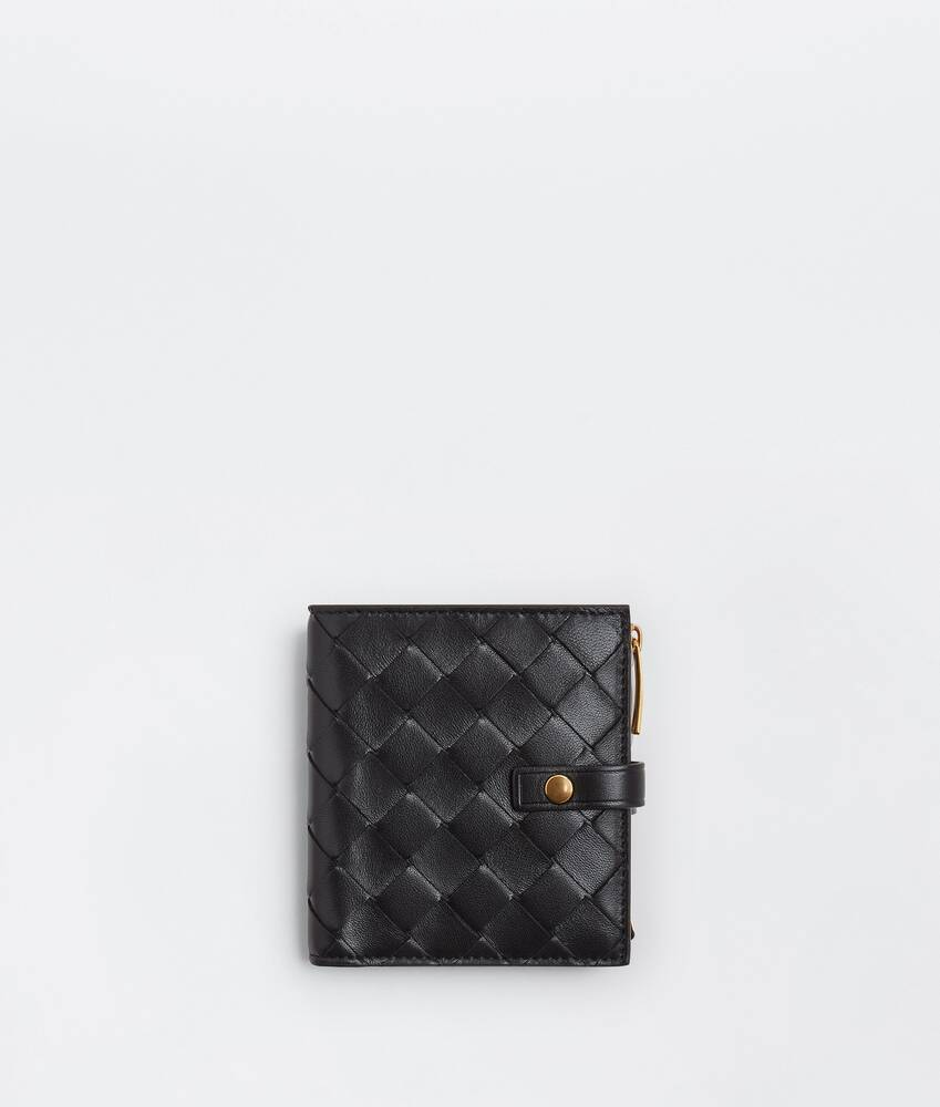 Display a large version of the product image 1 - small bi-fold zip wallet